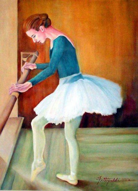 Слепая художница