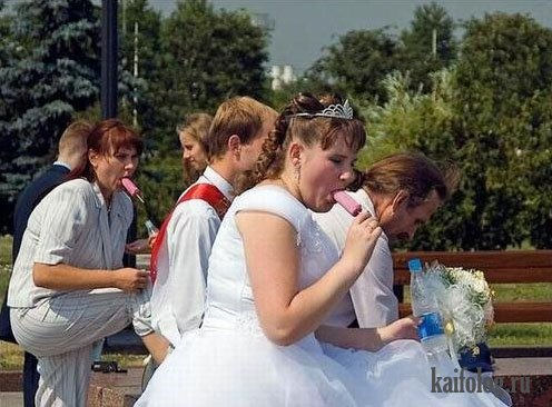 голые фото на свадьбах