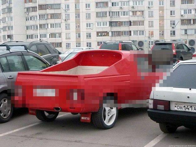 Русское фото пикап