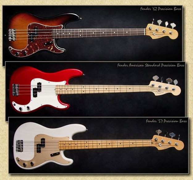 Fender Precision Bass.