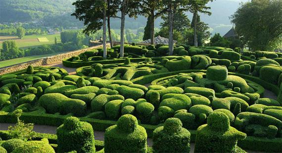 Прекрасный сад замка Маркизъяк  178706_373566