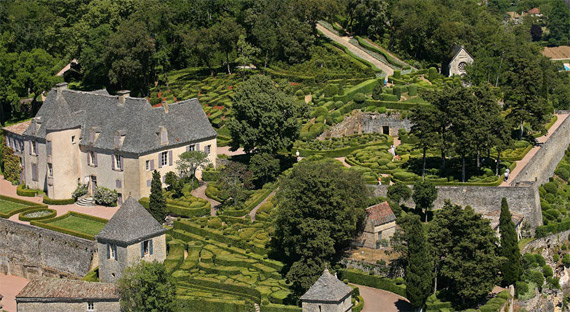 Прекрасный сад замка Маркизъяк  178706_373570