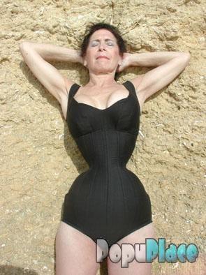 Фото худая талия большая попа и грудь фото 664-300