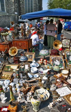Где искать блошиные рынки в Москве?