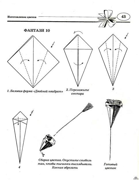 Оригами схемы на день рождения для мамы