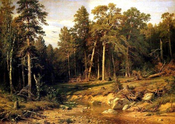 Шишкин Иван Иванович - галерея картин.