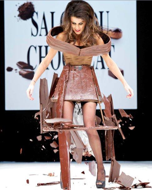 Шоколадное шоу в Париже 2011