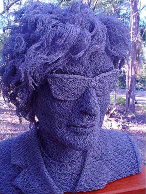 Скульптуры из проволки