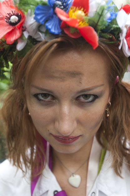 Очередная акция от FEMEN: «На FEMEN забили!»