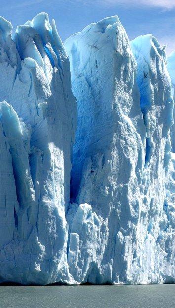 Айсберги у берегов Патагонии. Аргентина