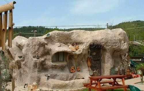 Современная пещера.