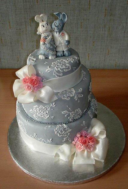 Красивые свадебные торты девушкам