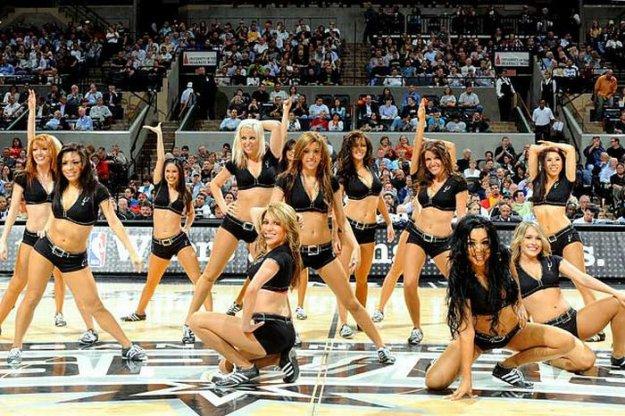 Группы поддержки в NBA