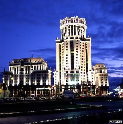 БЦ 'Павелецкая Плаза'. 2006 год. Москва, Замоскворечье. Павелецкая