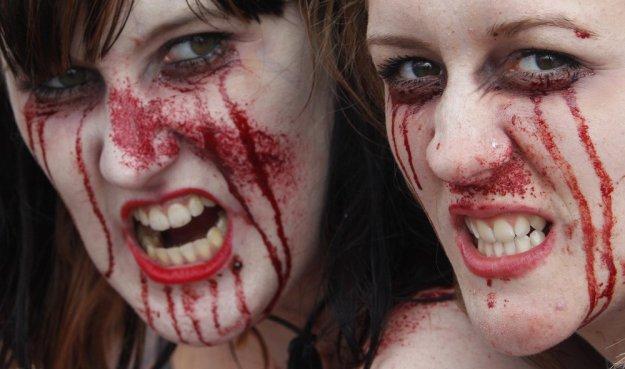 Фото зомби в Каннах