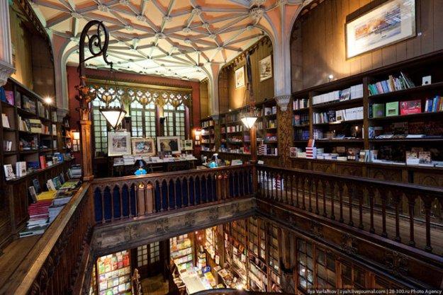 Книжный магазин Livraria Lello  181499_390856