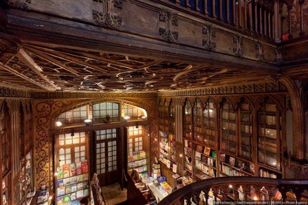 Книжный магазин Livraria Lello  181499_390861