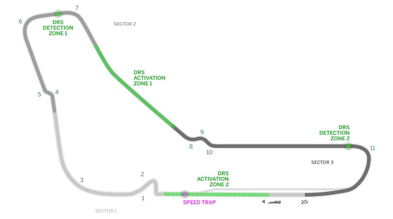 Старт 3-й тренировки Гран-при Италии перенесли из-за ливня