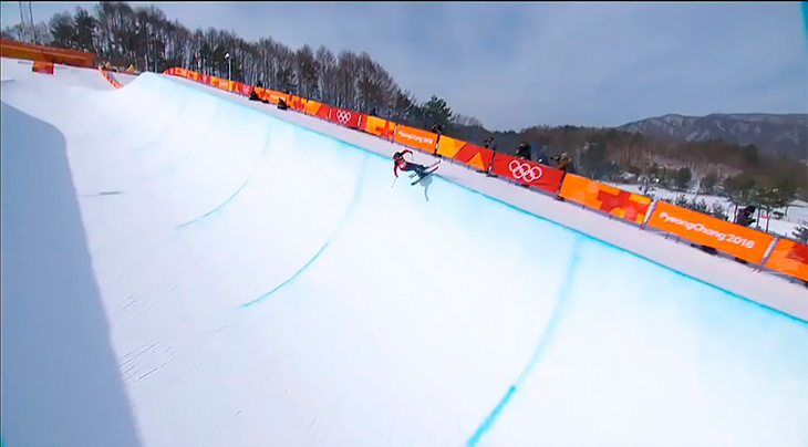 Лыжница, которая пробилась наОлимпиаду обманом, устроила вПхенчхане вместо выступления «дефиле»