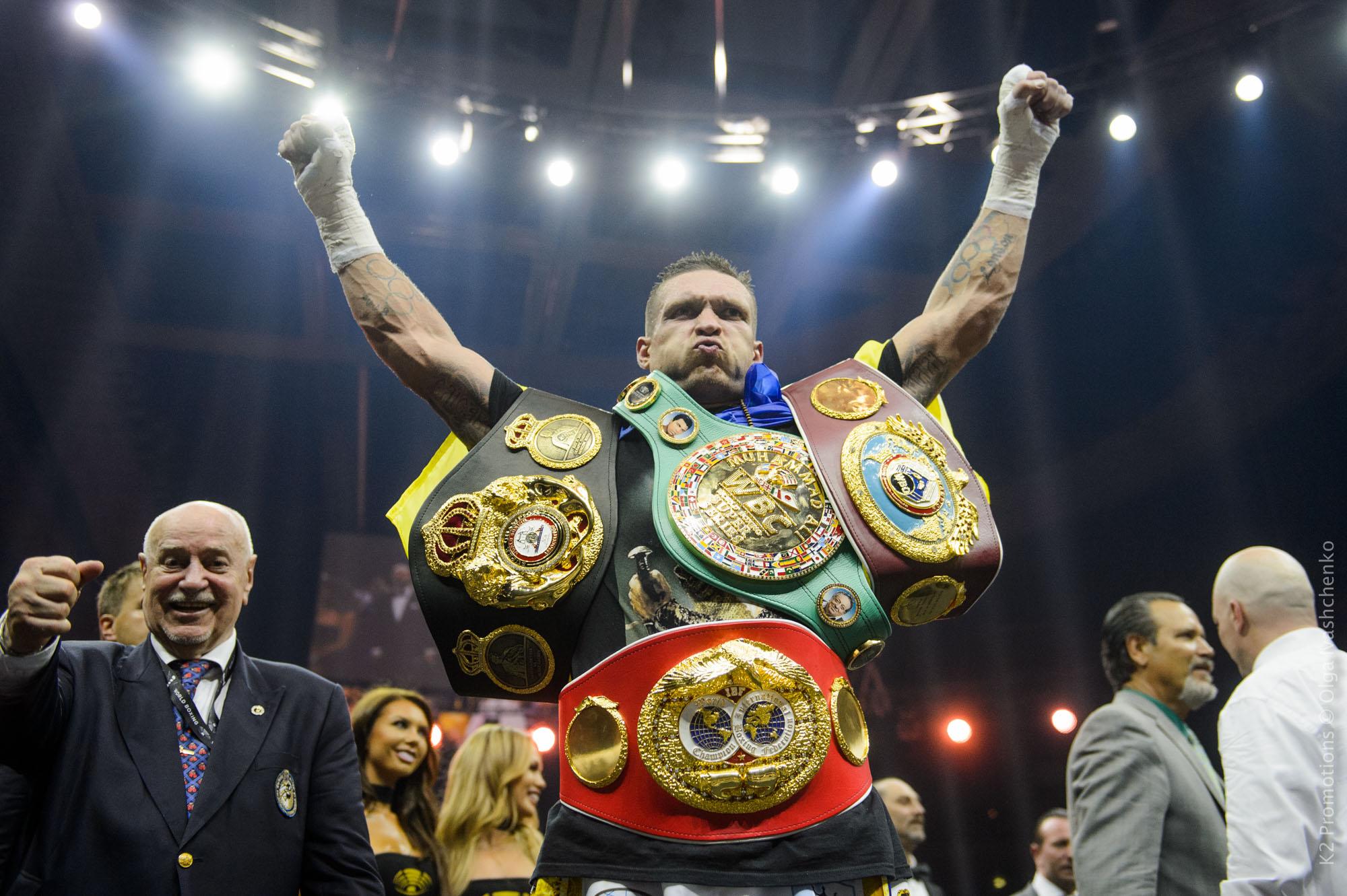 Усик увірвався до топ-4 рейтингу найсильніших боксерів світу