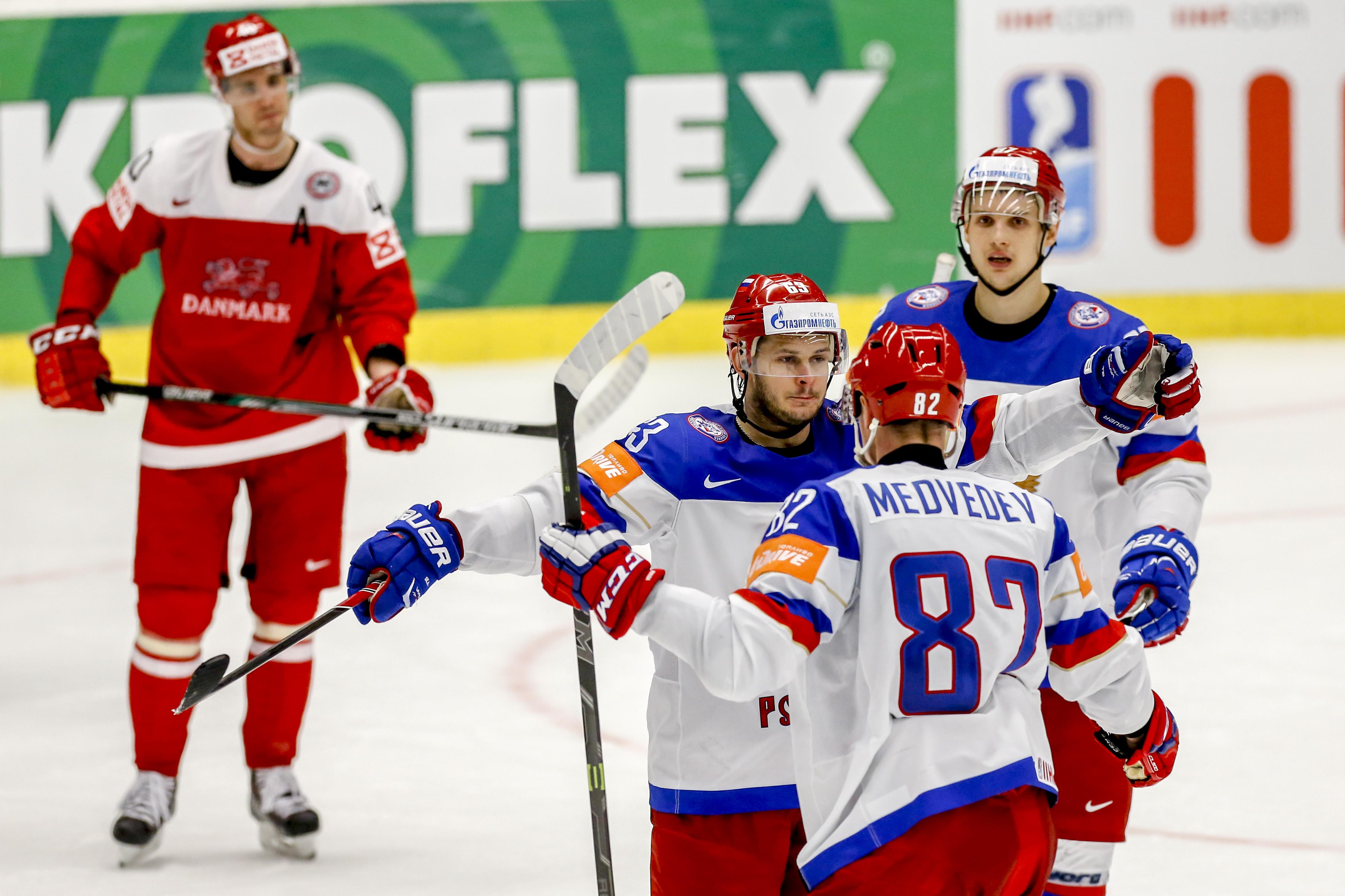 Прогноз на хоккей россия дания