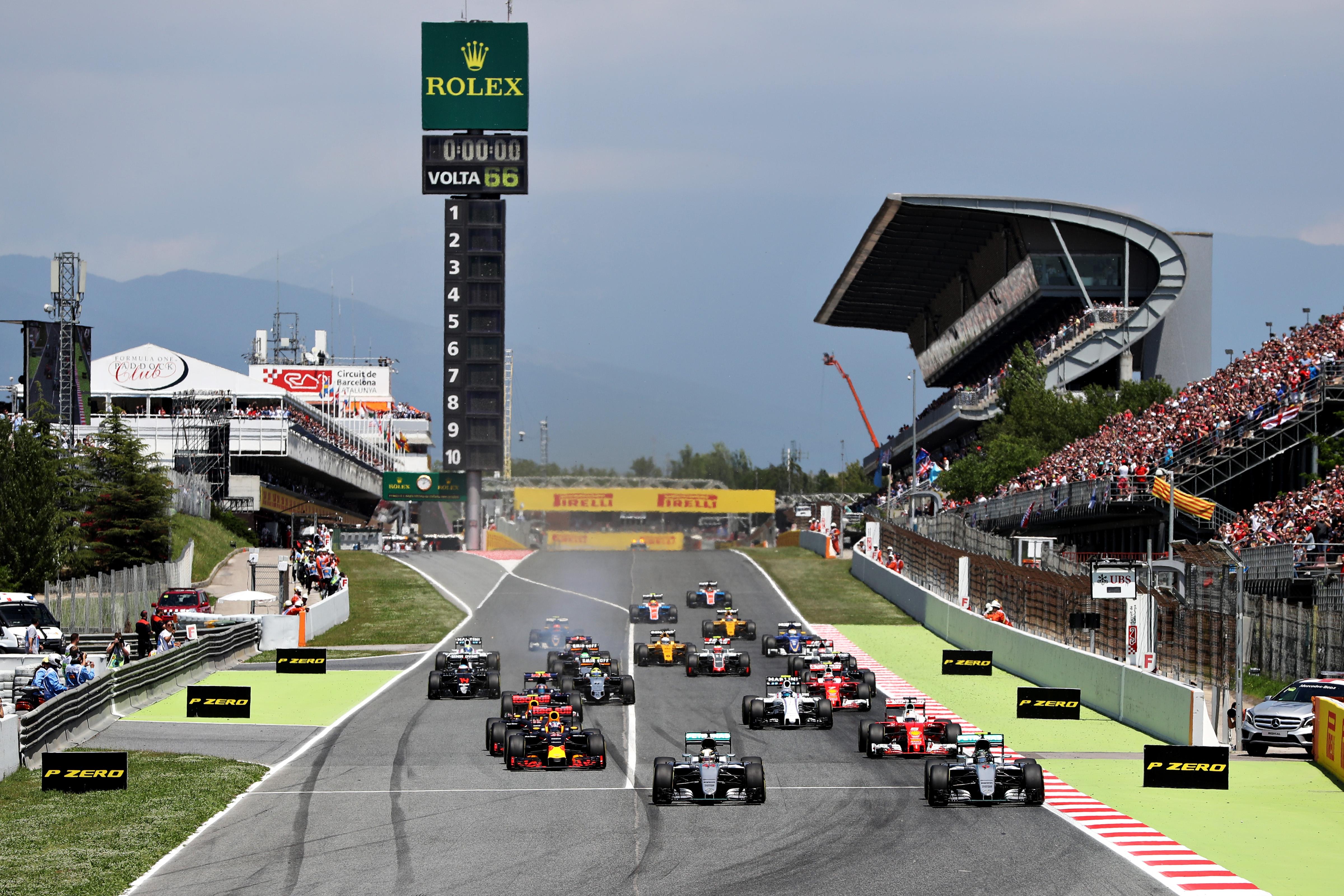 Гран при испании гонка 2016 смотреть