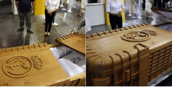 ВИспании начали производить гробы слоготипами «Реала» и«Барселоны»