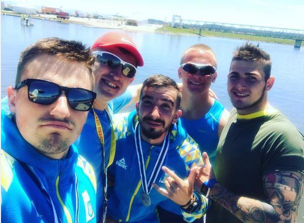 Українські веслувальники виграли повний комплект нагород наКубку світу вПортугалії