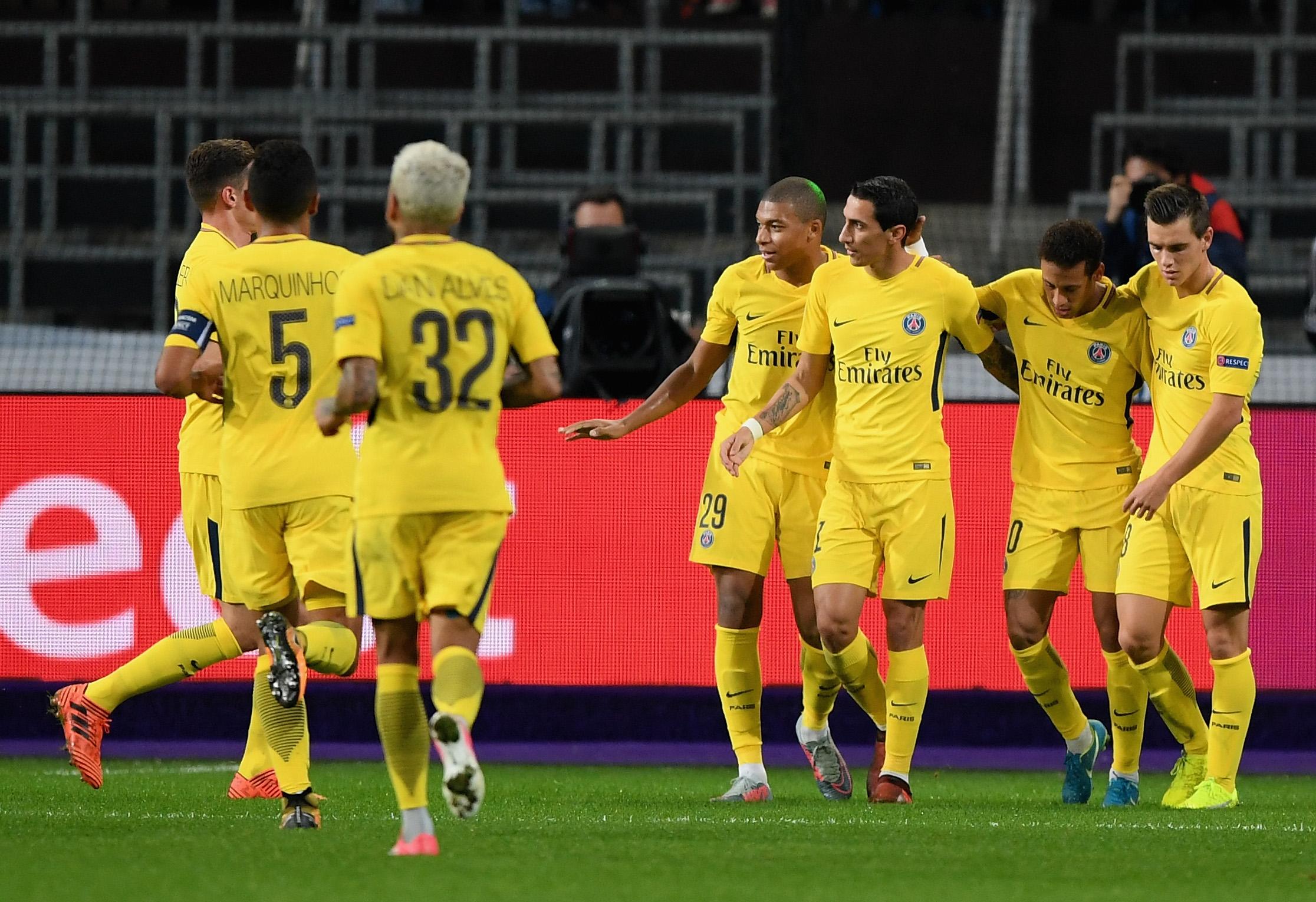 Кавани забил 2500-й гол ПСЖ ввысшем дивизионе чемпионата Франции