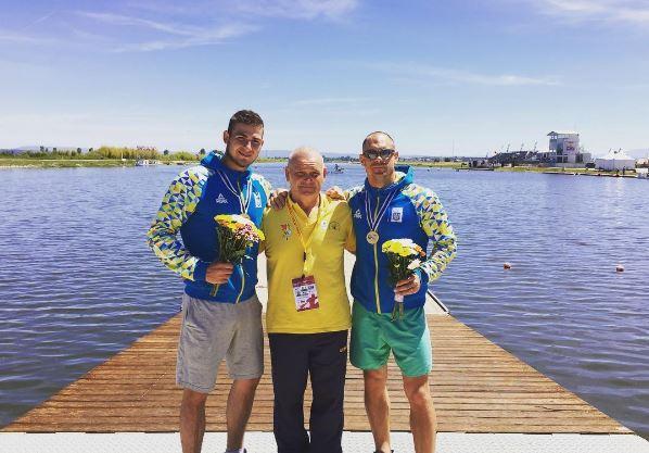 Українці здобули чотири медалі настарті етапу Кубка світу звеслування