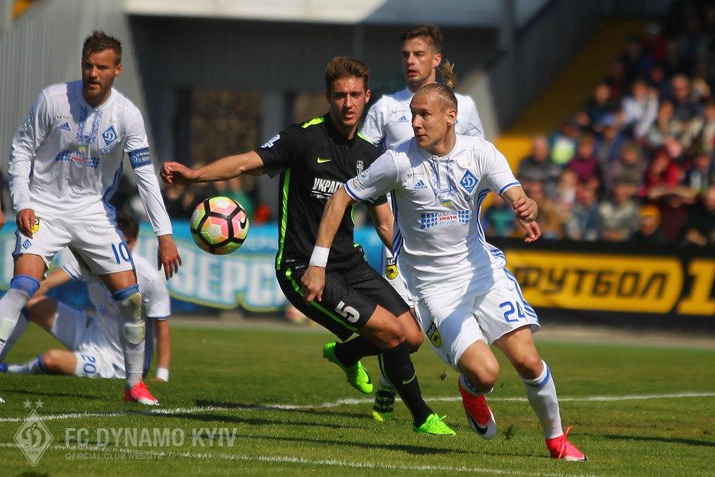 «Динамо» забило шесть мячей «Александрии» взаключительном матче 28-го тура УПЛ