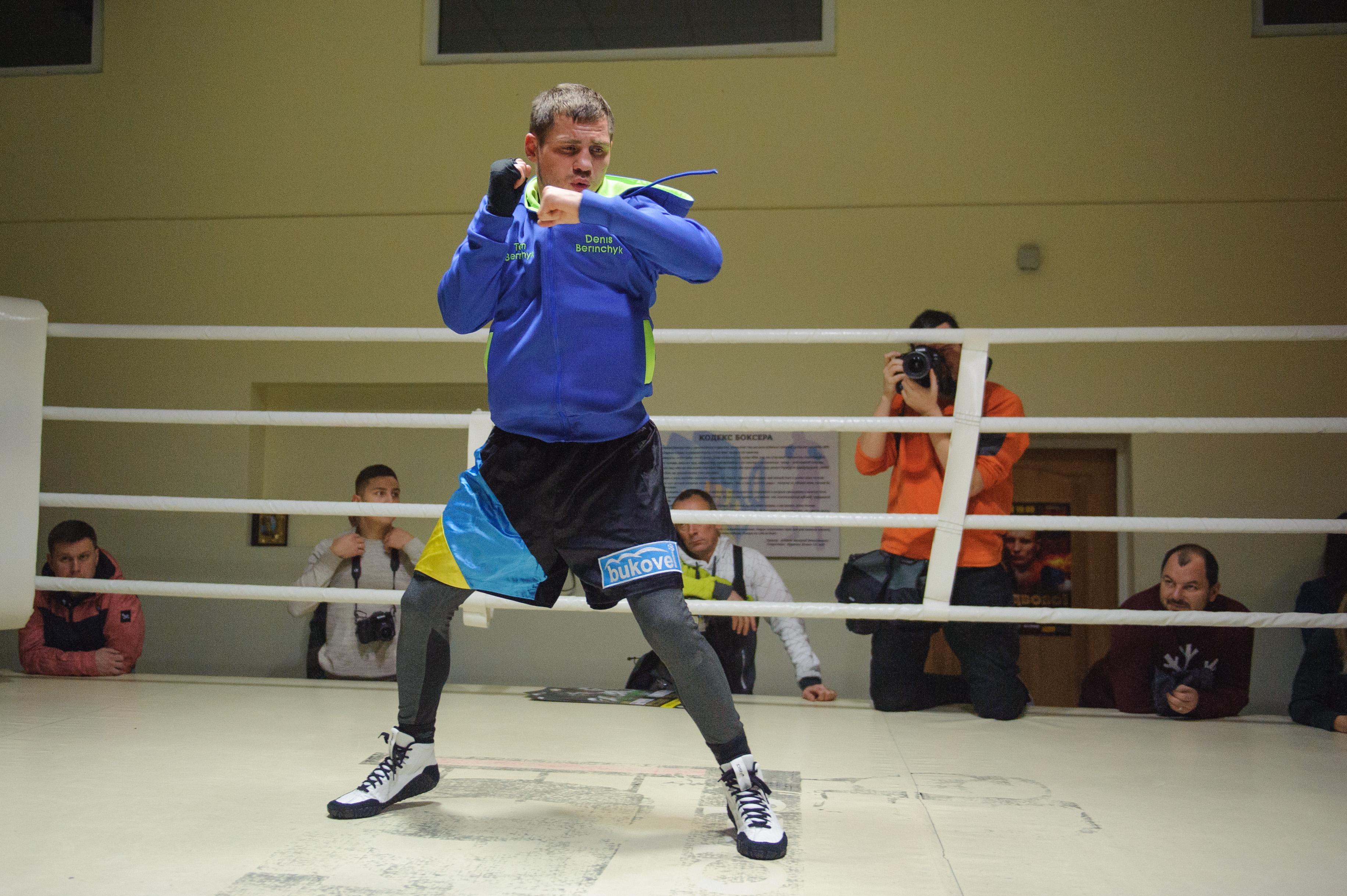 Беринчик добыл фееричную победу впервом титульном бое