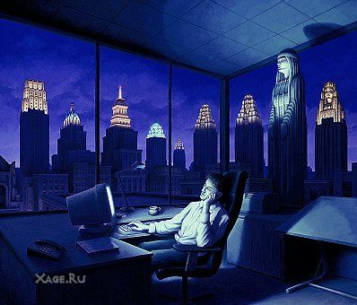 Rob Gonsalves. Галерея работ ч1