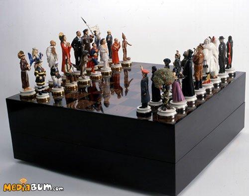 шахматы фото необычные