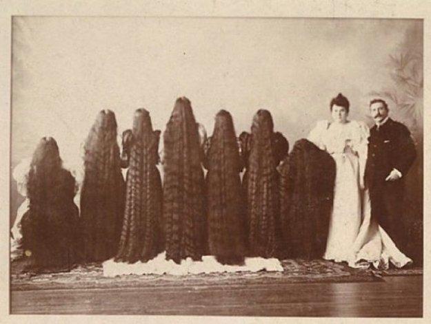 Длинные волосы на гениталиях