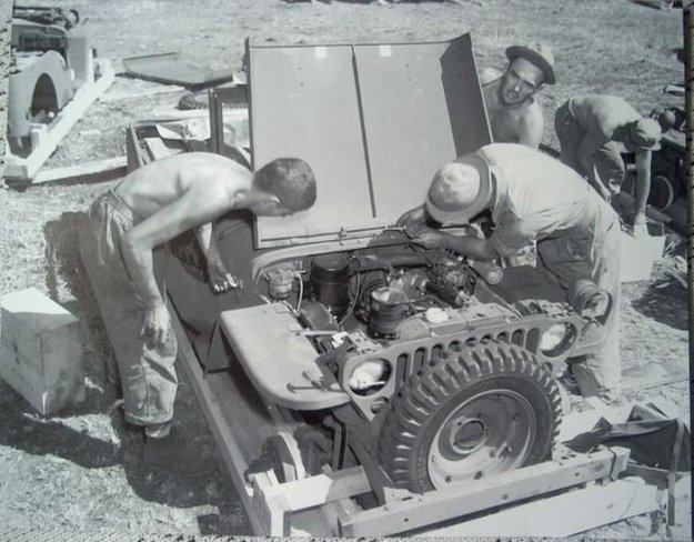 Willys MB Jeep ������� � ������������ ��������