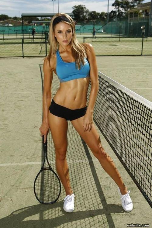 Спортивные девушки ...
