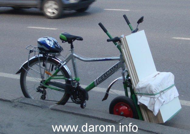 грузовой велосипед из