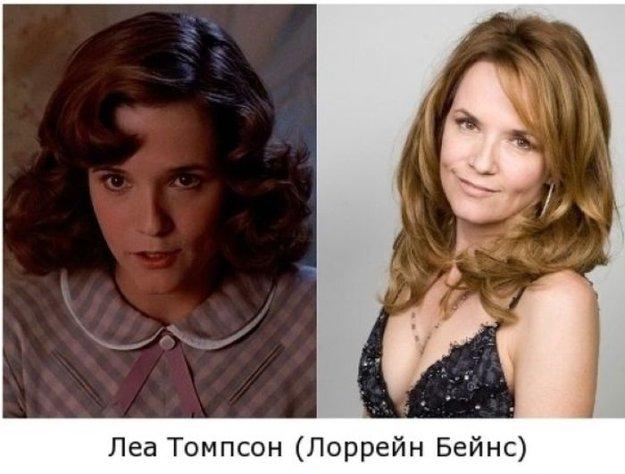 Актеры из фильма назад в будущее