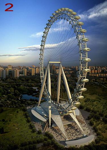 Фото колеса обозрения самого большого в мире