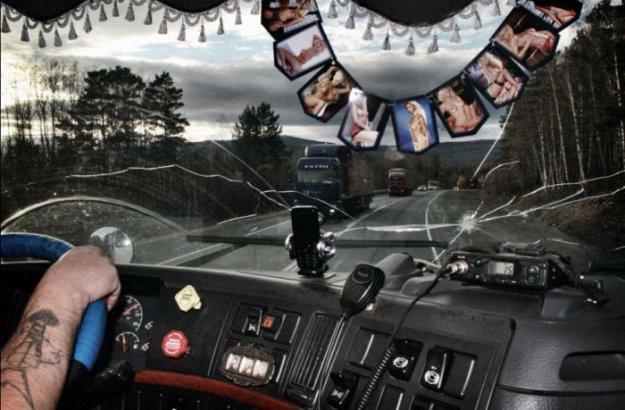 фото дальнобойщиков приколы