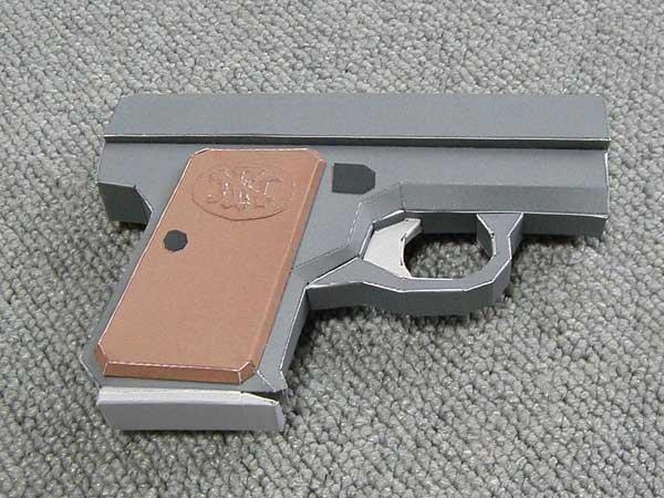 Самодельные бумажные пистолеты