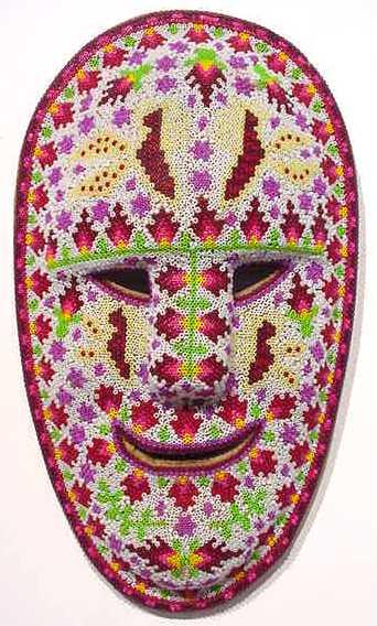 Бисер.Мексиканские маски.