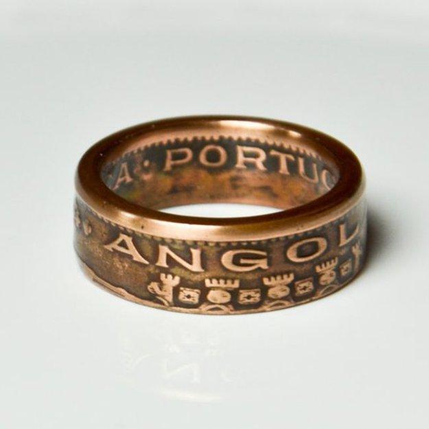 Кольцо из серебряной монеты