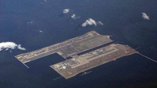 Международный аэропорт кансай в осаке