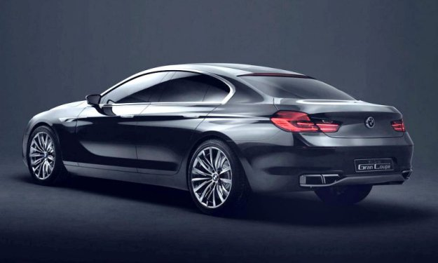 BMW �������� � ����� ������� Gran Coupe Concept