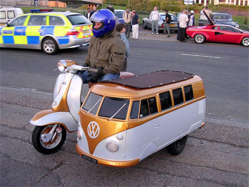 Side Car Lambretta + Mini-Combi