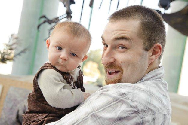 папы и дети приколы фото