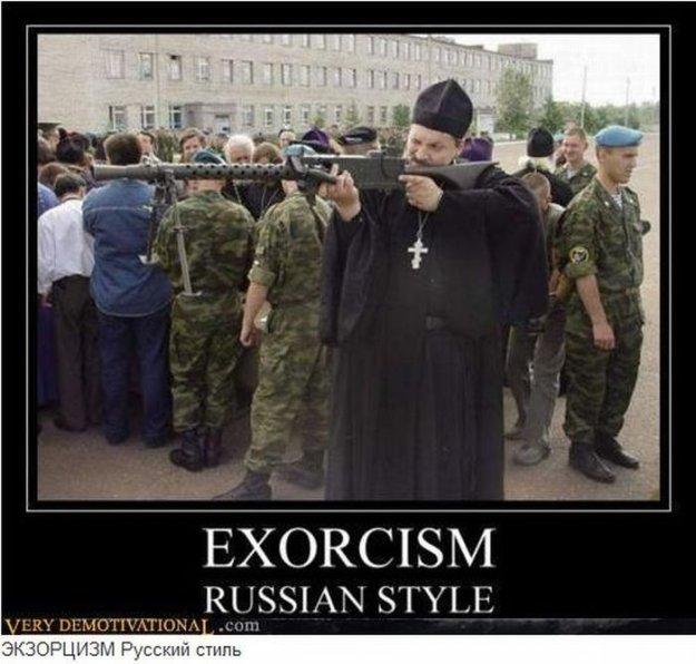 Зарубежные демотиваторы о русских