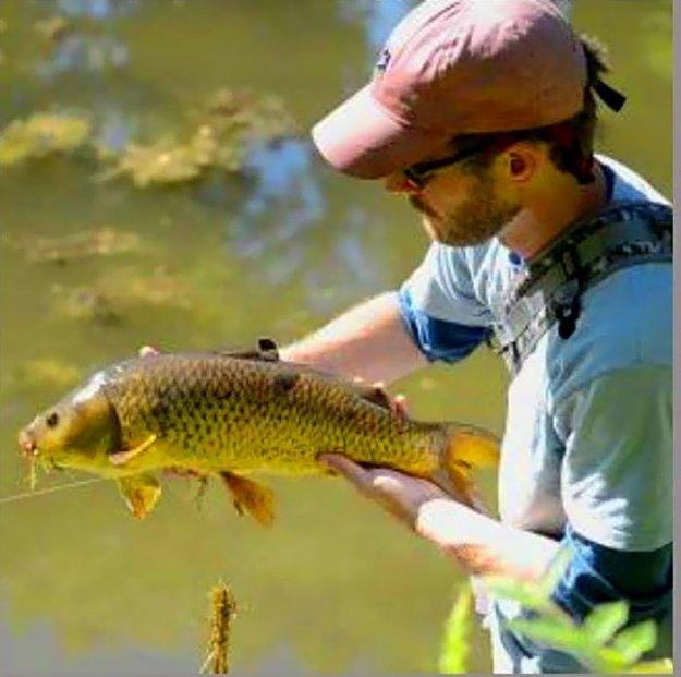 любитель рыболов рыба